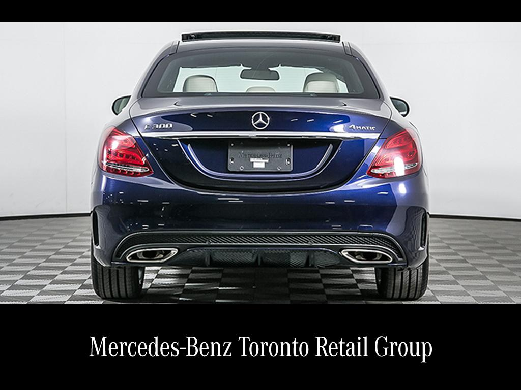 Certified Pre-Owned 2015 Mercedes-Benz C-CLASS C300