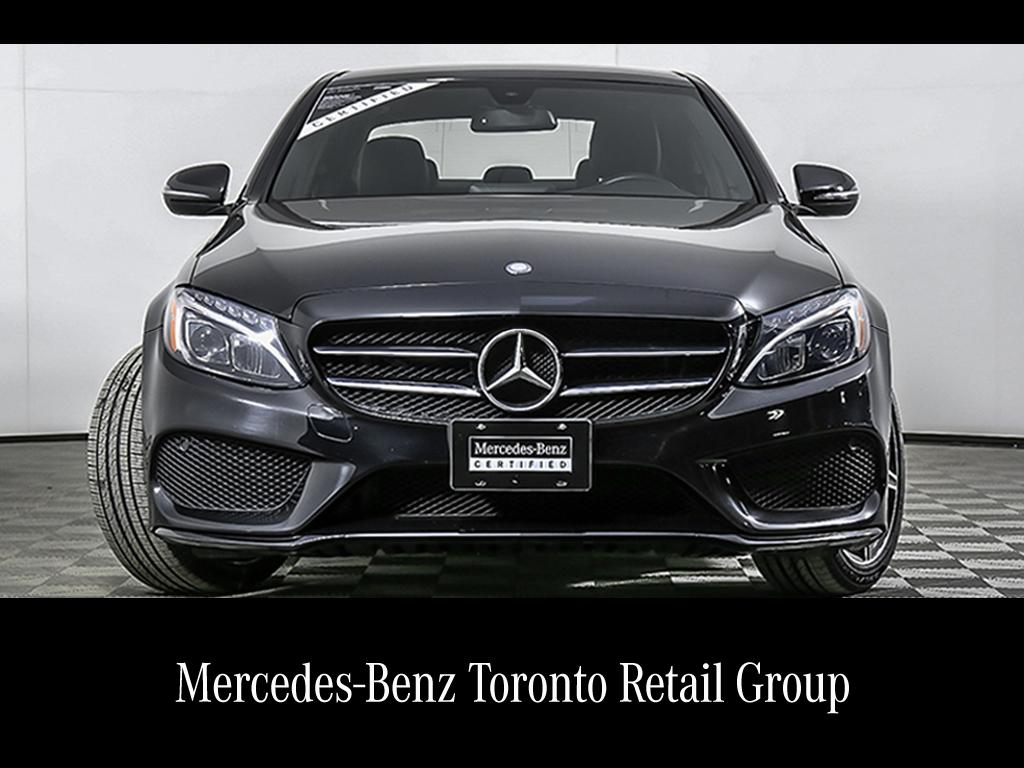certified pre-owned mercedes-benz c-class | 2017 c300 4-door sedan