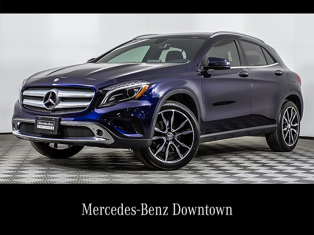 Certified Pre Owned 2017 Mercedes Benz Gla Gla250
