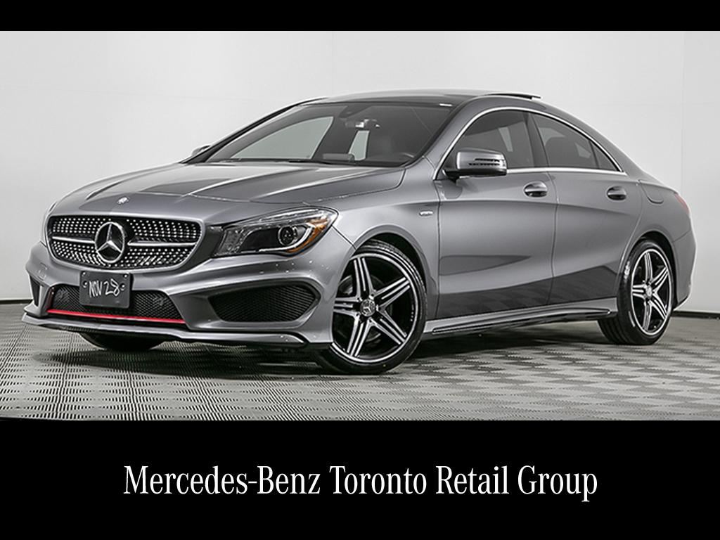 Certified Pre Owned 2015 Mercedes Benz Cla Cla250 Coupe In Toronto