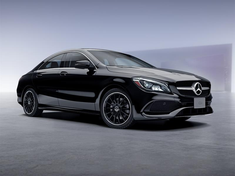 New 2018 mercedes benz cla cla250 coupe in toronto for Mercedes benz downtown service
