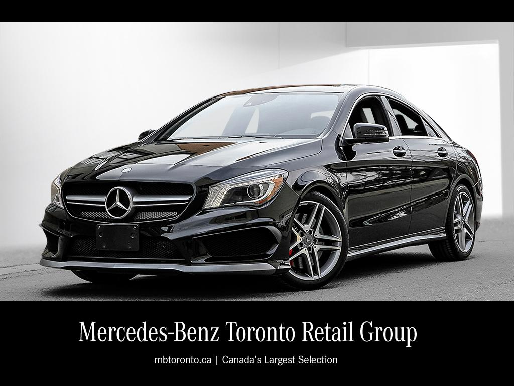 Certified Pre Owned 2014 Mercedes Benz Cla Cla45 Amg Coupe