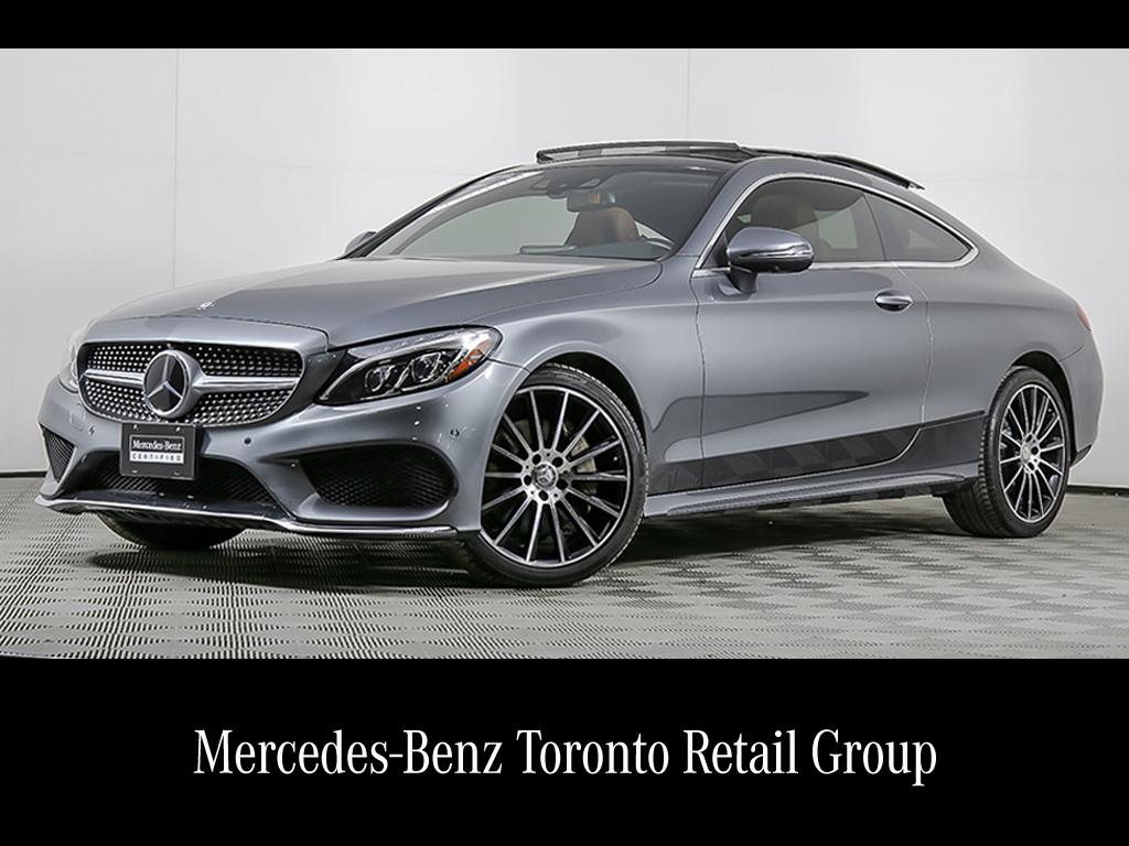 Certified Pre Owned 2017 Mercedes Benz C Cl C300